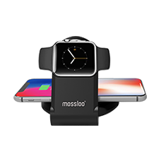 MOSSLOO 2 in 1 Wireless Charging Stand for Apple iWatch & iPhone M29Q